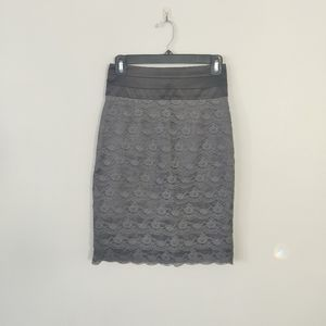 3/$20 - H&M Lace Skirt with satin waist
